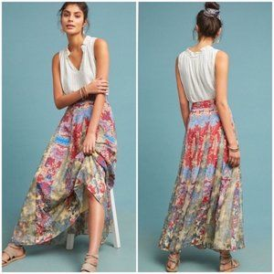 Hermant & Nandita Lourve Maxi Skirt Small